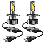economico -Auto LED Lampada frontale 9003 / H4 / HB2 Lampadine 72 W Per Universali Tutti gli anni 2 pezzi