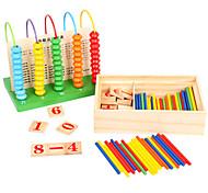 abordables -Jeu de Boulier Jouet Educatif Jouets Educatifs Mathématiques compatible En bois Legoing Economique Classique Jouet Cadeau / Enfant