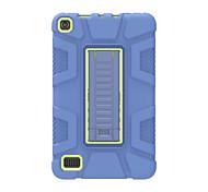 economico -telefono Custodia Per Amazon Per retro Amazon Fire7 (2017) Amazon Fire7 (2015) Resistente agli urti Tinta unita Gel di silice PC
