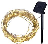 economico -luce solare esterna a LED luce solare da giardino 4 m luci a stringa luci da esterno 40 LED 1 set bianco caldo decorativo ad energia solare