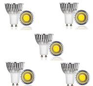 economico -10 pezzi 3 W Faretti LED 250 lm GU10 1 Perline LED COB Decorativo Bianco caldo Luce fredda 85-265 V / RoHs