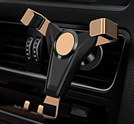 abordables -support de téléphone portable de voiture nouvelle gravité avec motif de peau sortie d'air titulaire de téléphone portable boucle de protection contre les chutes de côté