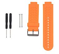 economico -Cinturino intelligente per Garmin 1 pcs Cinturino sportivo Silicone Sostituzione Custodia con cinturino a strappo per Approccio S4 Approccio S2