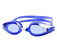 abordables -Lunettes de natation Etanche Antibrouillard Protection UV Miroir Plaqué Pour Adulte Le gel de silice Polycarbonate Blanc Noir Bleu Vert Noir Bleu