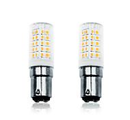 abordables -loende 2pcs 6 w led lumières de maïs 700 lm ba15d t 64 led perles smd 2835 dimmable blanc chaud 110-130 v 200-240 v