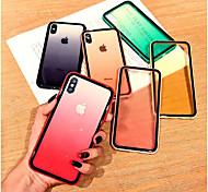 economico -telefono Custodia Per Apple Per retro iPhone XR iPhone XS iPhone XS Max iPhone X iPhone 8 Plus iPhone 8 iPhone 7 Plus iPhone 7 iPhone 6s Plus iPhone 6s Transparente Transparente Acrilico