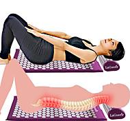 abordables -massage masseur coussin de massage acupressure soulager les douleurs dorsales douleurs abdominales tapis acupuncture massage tapis de yoga et oreiller