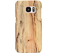 economico -telefono Custodia Per Samsung Galaxy Per retro Custodia in pelle S8 Plus Bordo S7 S7 S6 edge plus S6 Ultra sottile Simil-legno pelle sintetica PC