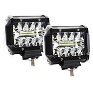 abordables -4 pouces 60w 3 rangées de lumières led de travail de la lumière de conduire des lumières de bande de toit des lumières hors route
