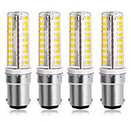economico -4 pezzi 7 W LED a pannocchia 300 lm B15 64 Perline LED SMD 2835 Bianco caldo Luce fredda 220-240 V 110-120 V