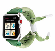 economico -Cinturino intelligente per Apple  iWatch 1 pcs Cinturino sportivo Nylon Sostituzione Custodia con cinturino a strappo per Apple Watch Serie SE / 6/5/4/3/2/1 38 millimetri 40 mm 42 millimetri 44mm