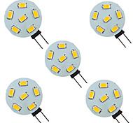 economico -5 pezzi 1.5 W Luci LED Bi-pin 200 lm G4 6 Perline LED SMD 5730 9-30 V
