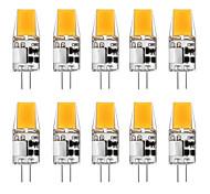 abordables -10 pièces 5 W LED à Double Broches 300 lm G4 T 1 Perles LED COB Blanc Chaud Blanc 12 V