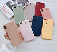 economico -telefono Custodia Per Apple Per retro iPhone XR iPhone XS iPhone XS Max iPhone X iPhone 8 Plus iPhone 8 iPhone 7 Plus iPhone 7 iPhone 6s Plus iPhone 6s Effetto ghiaccio Tinta unica TPU