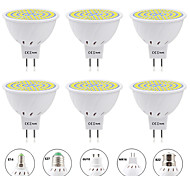 economico -6pcs 8 W Faretti LED 800 lm E14 GU10 MR16 MR16 80 Perline LED SMD 2835 Nuovo design Bianco caldo Bianco 220-240 V 110-120 V