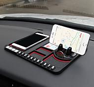 abordables -tapis anti-dérapant multifonctionnel pour voiture téléphone anti-dérapant collant anti-dérapant montage sur tableau de bord silicone tapis tapis de voiture