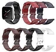 economico -Cinturino intelligente per Fitbit 1 pcs Cinturino sportivo Vera pelle Sostituzione Custodia con cinturino a strappo per Fitbit Versa Fitbit Versa Lite