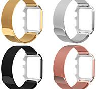 economico -Cinturino intelligente per Apple  iWatch 2 pezzi Cinturino a maglia milanese Acciaio inossidabile Sostituzione Custodia con cinturino a strappo per Apple Watch Series 4 Apple Watch Serie SE