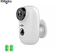 voordelige -hiseeu 1080p draadloze batterij ip camera wifi oplaadbaar 2mp buitenbeveiliging videobewaking camera waterdicht pir motion nachtzicht bewegingsdetectie twee manier audio