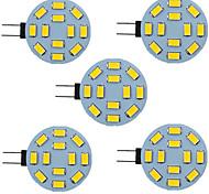 economico -5 pezzi 2.5 W Luci LED Bi-pin 340 lm G4 12 Perline LED SMD 5730 9-30 V