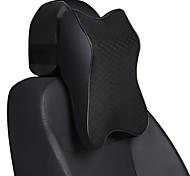 abordables -appuie-tête de voiture appuie-tête noir / violet / maille bourgogne / simili-cuir pour tous les âges
