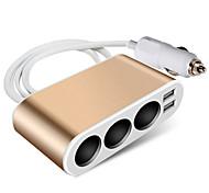 economico -Auto Caricatore per auto 2 porte USB per 24 V