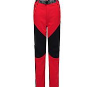 abordables -Femme Pantalon de Randonnée Pantalon Softshell Mosaïque Hiver Extérieur Chaud Etanche Coupe Vent Séchage rapide Pantalons / Surpantalons Bas Noir Jaune Rouge Grise Orange Chasse Ski Pêche S M L XL XXL