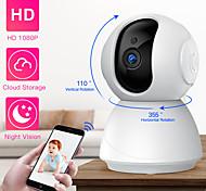 economico -SDETER 1 mp Videocamera IP Al Coperto Supporto 128 GB / PTZ / Senza filo / Fisso / Configurazione protetta Wi-Fi