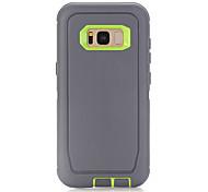 economico -telefono Custodia Per Samsung Galaxy Per retro S8 Resistente agli urti Tinta unica Silicone Gel di silice