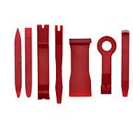 economico -7pcs / set set di strumenti di plastica strumento di riparazione auto voiture all'interno della porta della plancia leva strumenti di rimozione automatica della porta