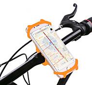 abordables -Monture de Téléphone Pour Vélo Rotation 360° pour Vélo de Route Vélo tout terrain / VTT Vélo pliant Silicone iPhone X iPhone XS iPhone XR Cyclisme Noir Orange Vert