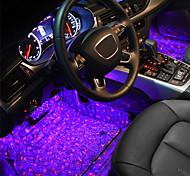 economico -1 set di telecomando per auto suola piena di stelle atmosfera luce umore luce interni luci decorative luci per interni luci car styling