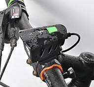 economico -LED Luci bici Luce frontale per bici LED Bicicletta Ciclismo Rilascio rapido Litio-polimero Batteria ricaricabile Li-ion 1000 lm Batteria ricaricabile Bianco Ciclismo / Rotazione a 360° / IPX 6