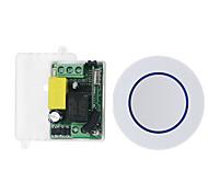 abordables -commutateur intelligent 1ch relais / ac85v-265v 1ch récepteur de contrôle à distance de code d'apprentissage / led / puissance de l'ampoule allumé / éteint 433mhz