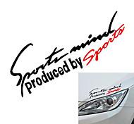 economico -Nero / Rosso / Rosso / bianco Adesivi auto Sportivo Adesivi per auto completi Testo / Numero Adesivi