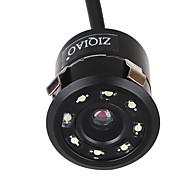economico -ziqiao universal 8 led hd night vision 18.5mm telecamera per retromarcia telecamera per retrovisione a 170 gradi