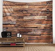 abordables -tapisserie murale art décor couverture rideau pique-nique nappe suspendu maison chambre salon dortoir décoration géométrique rustique planche de bois planche