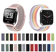 economico -Cinturino intelligente per Fitbit 1 pcs Cinturino sportivo Tessuto Nylon Sostituzione Custodia con cinturino a strappo per Fitbit Versa Fitbit Versa Lite