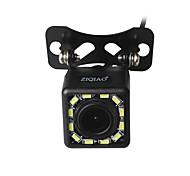 abordables -ziqiao 12 lumières led vision nocturne de 170 degrés caméra de recul étanche vue arrière de voiture