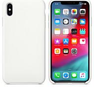 economico -telefono Custodia Per Apple Per retro Silicone Custodia in silicone iPhone 12 Pro Max 11 SE 2020 X XR XS Max 8 7 Resistente agli urti Tinta unita Silicone Gel di silice