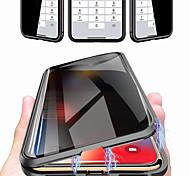 abordables -étui pour iphone apple pro 11 pro max 11 max 11 antichoc magnétique, corps entier, verre trempé coloré dans la masse x / xs xr xs max 7 plus / 8 plus 8/7