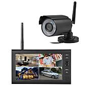 abordables -1/4 pouces CMOS Caméra IR / Caméra simulé MPEG4 IP54