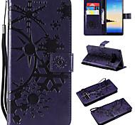 economico -telefono Custodia Per Samsung Galaxy Integrale Custodia in pelle Porta carte di credito Nota 8 Nota 3 Galaxy Note 4 A portafoglio Porta-carte di credito Con chiusura magnetica Paesaggi pelle