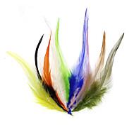 economico -50 pcs Esca volante Pelle Pesca a mosca