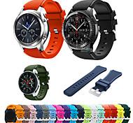 economico -Cinturino intelligente per Samsung Galaxy 1 pcs Cinturino sportivo Silicone Sostituzione Custodia con cinturino a strappo per Gear S3 Frontier Gear S3 Classic Samsung Galaxy Watch 46