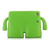 economico -telefono Custodia Per Apple Per retro iPad Mini 3/2/1 iPad Mini 4 iPad Mini 5 Resistente agli urti Con supporto Tinta unita Gel di silice
