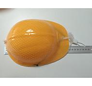 abordables -Casque jaune de construction de sécurité pour enfants ou chapeau de costume de construction, chapeaux de constructeur en plastique jaune