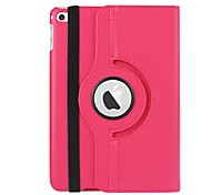 economico -telefono Custodia Per Apple Integrale iPad Mini 4 A calamita Auto sospendione / riattivazione Tinta unita pelle sintetica TPU