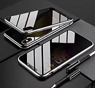 economico -telefono Custodia Per Apple Integrale Custodia ad adsorbimento magnetico Custodia flip iPhone 12 Pro Max 11 SE 2020 X XR XS Max 8 7 Resistente agli urti Con chiusura magnetica A calamita Tinta unita