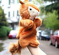 abordables -Animal en peluche Peluches Marionnettes à main Ecureuil Pluche Jeu imaginatif, bas, grands cadeaux d'anniversaire Party Favor Supplies Garçons et filles Adultes Enfants